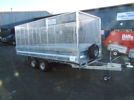 Trailer With Mesh Sides