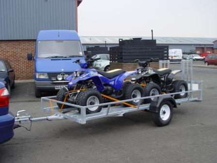 TRAILER FOR QUAD BIKES