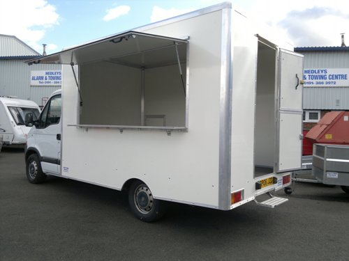 Chassis Cab Fitted with new catering body