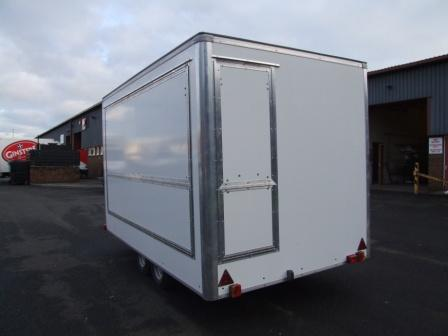 14FT X 7FT Catering Trailer